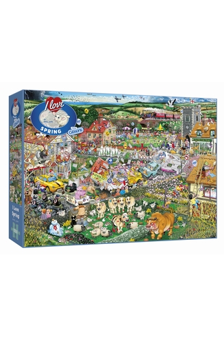 I LOVE SPRING - 1000 PIECES