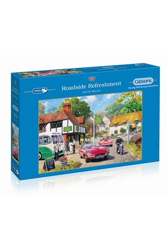 ROADSIDE REFRESHMENT - 2000 PIECES