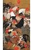 COQS ET POULES - ART JAPONAIS