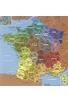 CARTE DE FRANCE REGIONS HC - GEOGRAPHIE