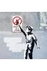 GRAFFITI IS A CRIME - BANKSY