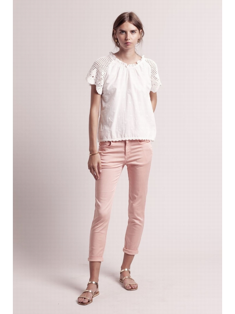 - Jean slim en tencel et coton - 5 poches - 60%Tencel