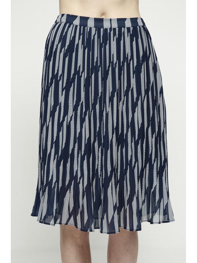 - Jupe plissée imprimée - Coupe normal - Longueur genoux -