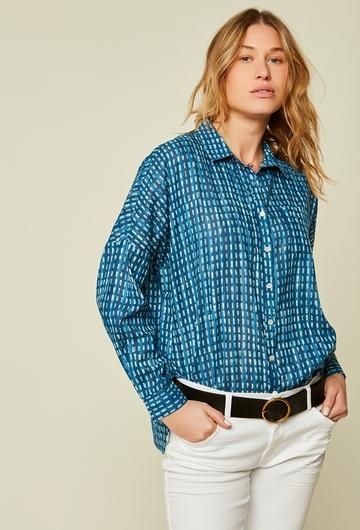 La petite chemise légère en coton idéale pour la saison !