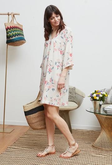La robe ROSIER signé Stella Forest s'inspire du traditionnel