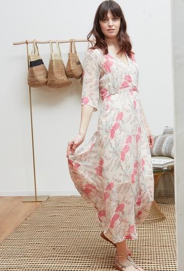 La robe ROUSSILLON signée Stella Forest est confectionnée en