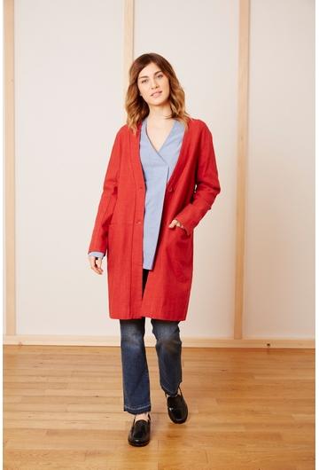 Le manteau MISHA signé Stella Forest est une pièce