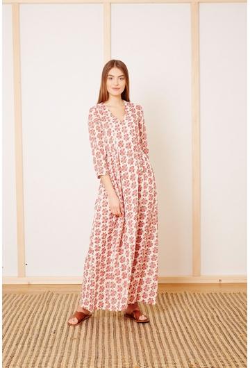 La robe DRIMIA signée Stella Forest à l'imprimé coloré est