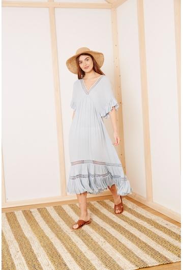 La robe Longue THAIS signée Stella Forest est idéale pour
