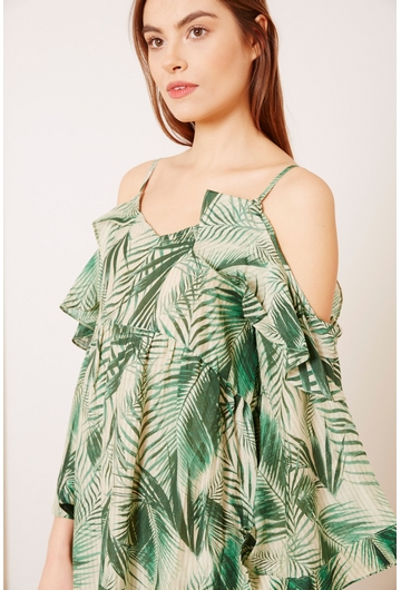 La robe longue Palma signée Stella Forest apporte la touche