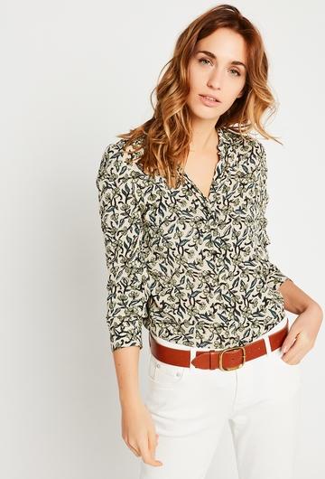 Notre chemise Holly : - Col clasique - Ouverture sur le