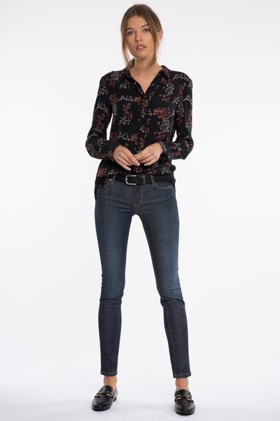 Jean Lola Jones, coupe skinny, stretch, cinq poches,