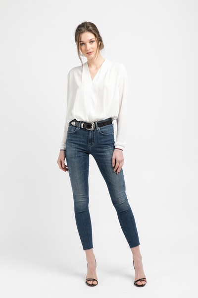 Jean Lola Jones, stretch, coupe skinny, cinq poches avant,