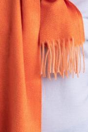 Écharpe bicolore en tissu moiré 100% Cachemire. Pour Homme