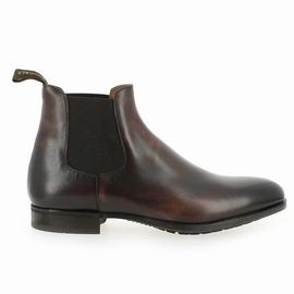 - Boots SPontini by Doucals - doublure cuir - semelle cuir -