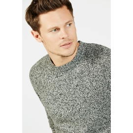 Pull col rond by Spontini pour homme. - maille chiné -