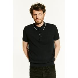 Polo en coton by Spontini pour homme. - Jeu de maille -