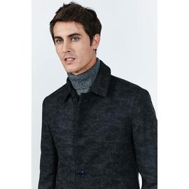 Manteau homme, by spontini - coupe droite - laine facon