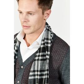 Echarpe à carreaux by Spontini pour homme. - 82% laine