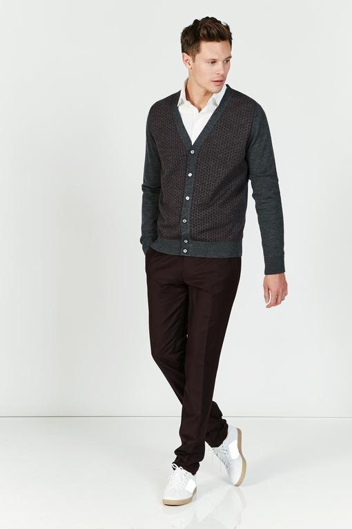 Gilet en laine by Spontini pour homme. - 50% laine, 50%