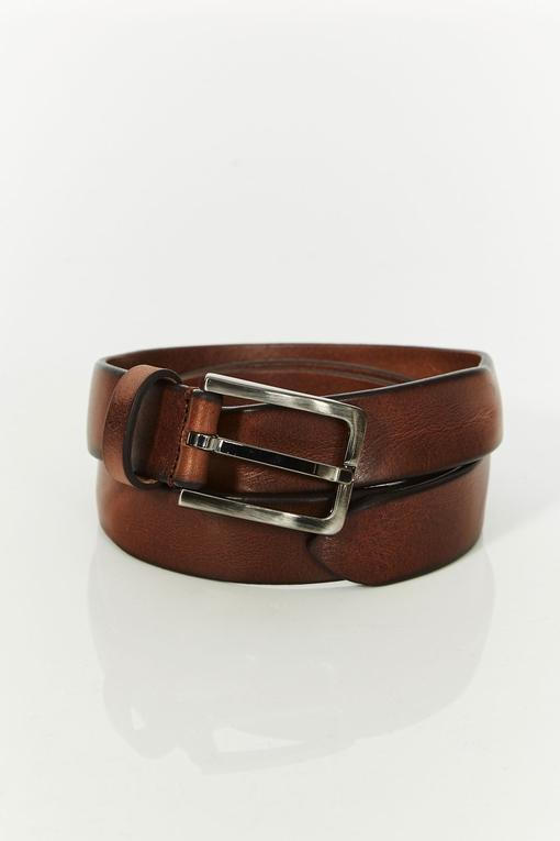 ceinture by spontini - en cuir de vachette - boucle en métal