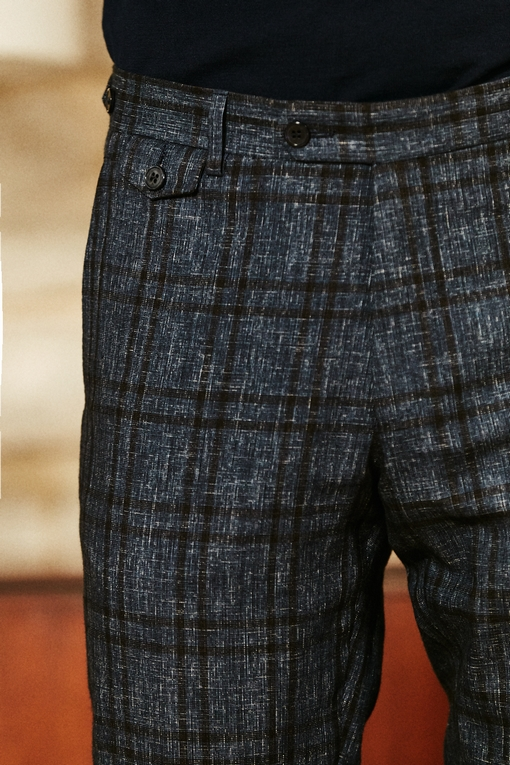 Pantalon by spontini - coupe ajustée - avec revers - 2