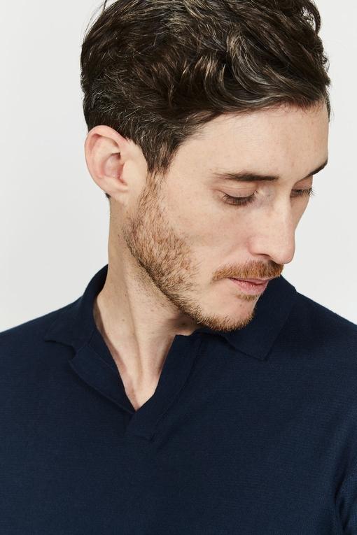 Polo en coton by Spontini pour homme. - 100% coton. - Col