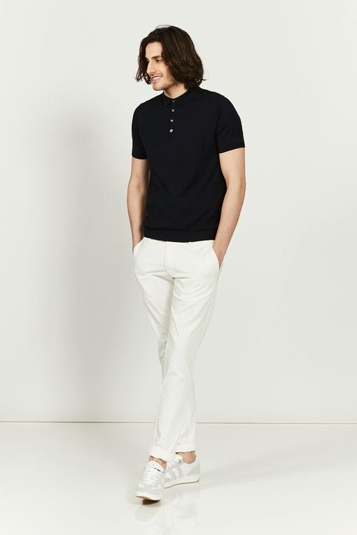 Polo en coton by Spontini pour homme. - Manches courtes. -