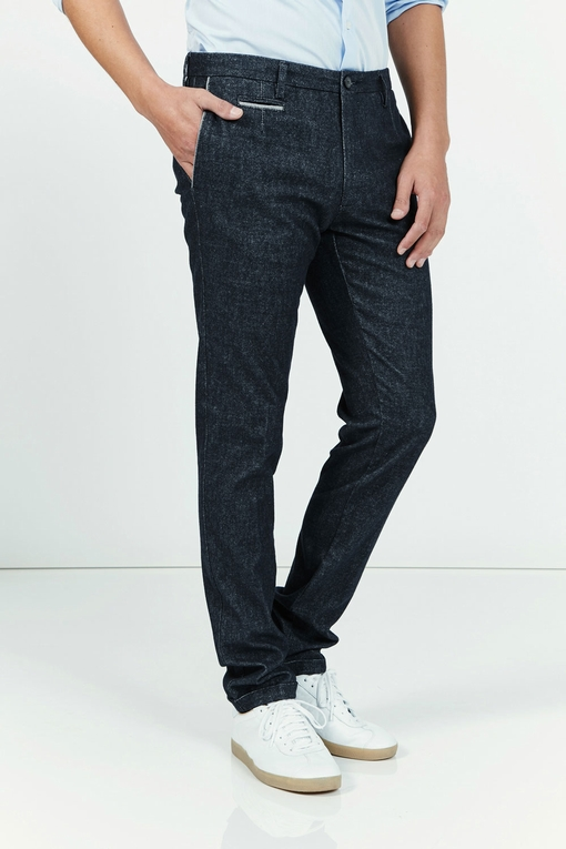 Pantalon by spontini - effet tweed - coupe ajustée - tres