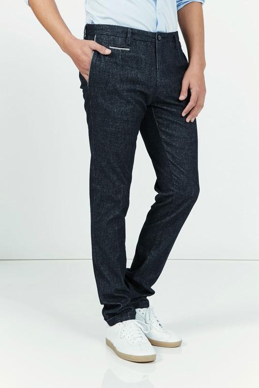 Pantalon by spontini - effet tweed - coupe ajustée - tres