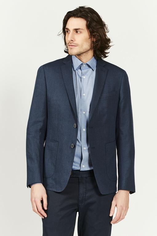Veste en coton à micro-motifs by Spontini pour homme. -