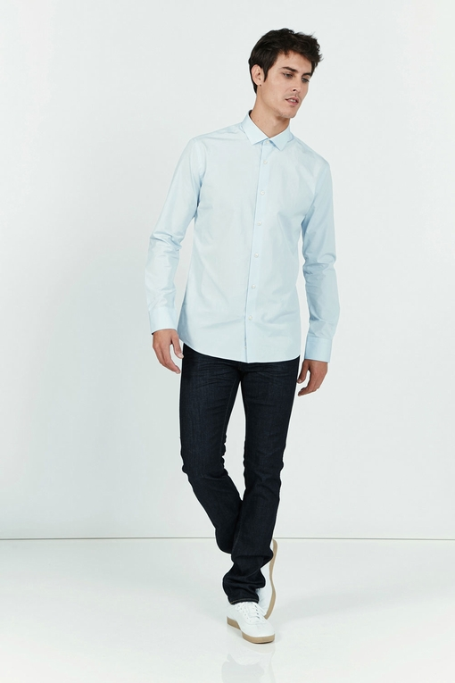 Chemise slim-fit en coton by Spontini pour homme. - 100%