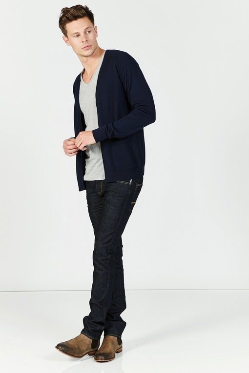 Jean brut, by spontini -cinq poches -coupe droite -