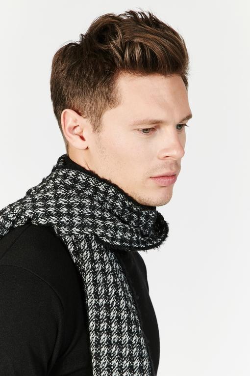 Echarpe imprimé by Spontini pour homme. - En laine mélangée.