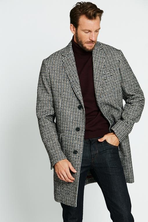 Manteau by spontini - semi doublé - 2 poches plaquées - 2