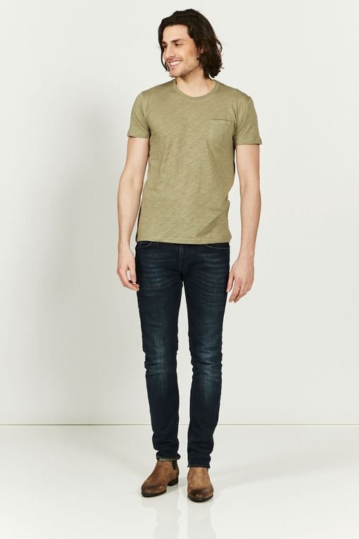 Tee-shirt by Spontini pour homme. - Col rond. - Manches