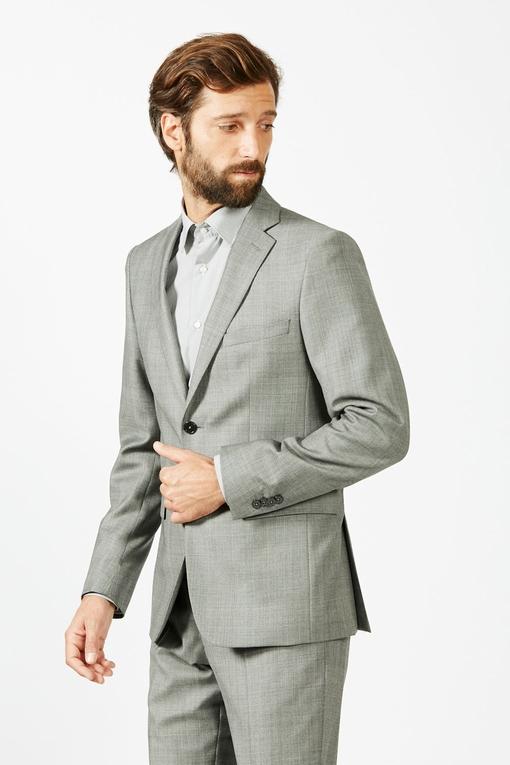 Costume slim by Spontini pour homme. - En laine vierge -