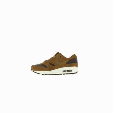 La NIKE AIR MAX 1 PREMIUM LEATHER arbore une empeigne en