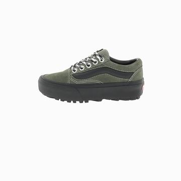 La VANS OLD SKOOL PLATFORM est une sneakers basse avec son