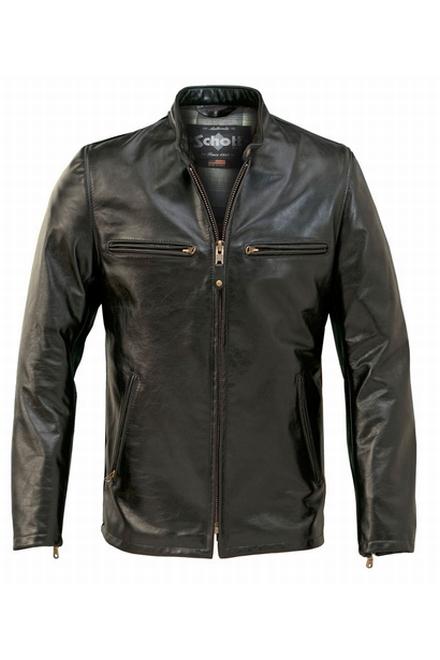 Cette veste de café racer est fabriqué à partir de peau de