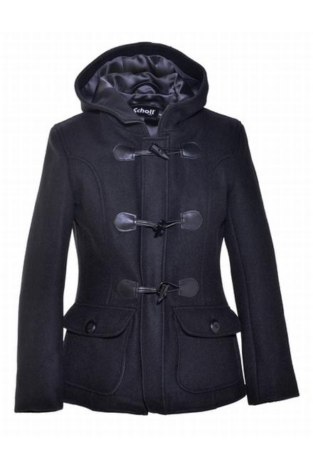 27 ' 24 laine oz de femmes recadrée duffle-coat en laine