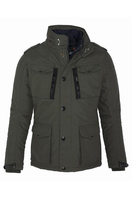 veste de combat Plastron amovible Fermeture zippée à rabat