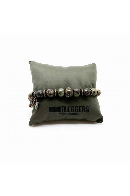 Bracelet Bootleggers Sonora, simple tour, 1 rang perles 8mm