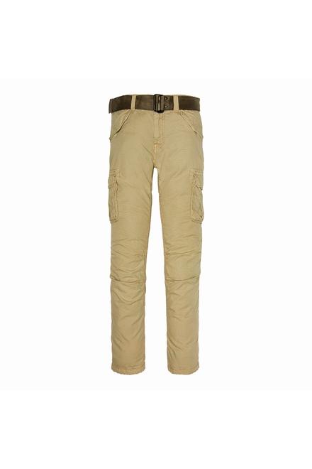 pantalon army avec ceinture  Fermé par glissière et bouton 2
